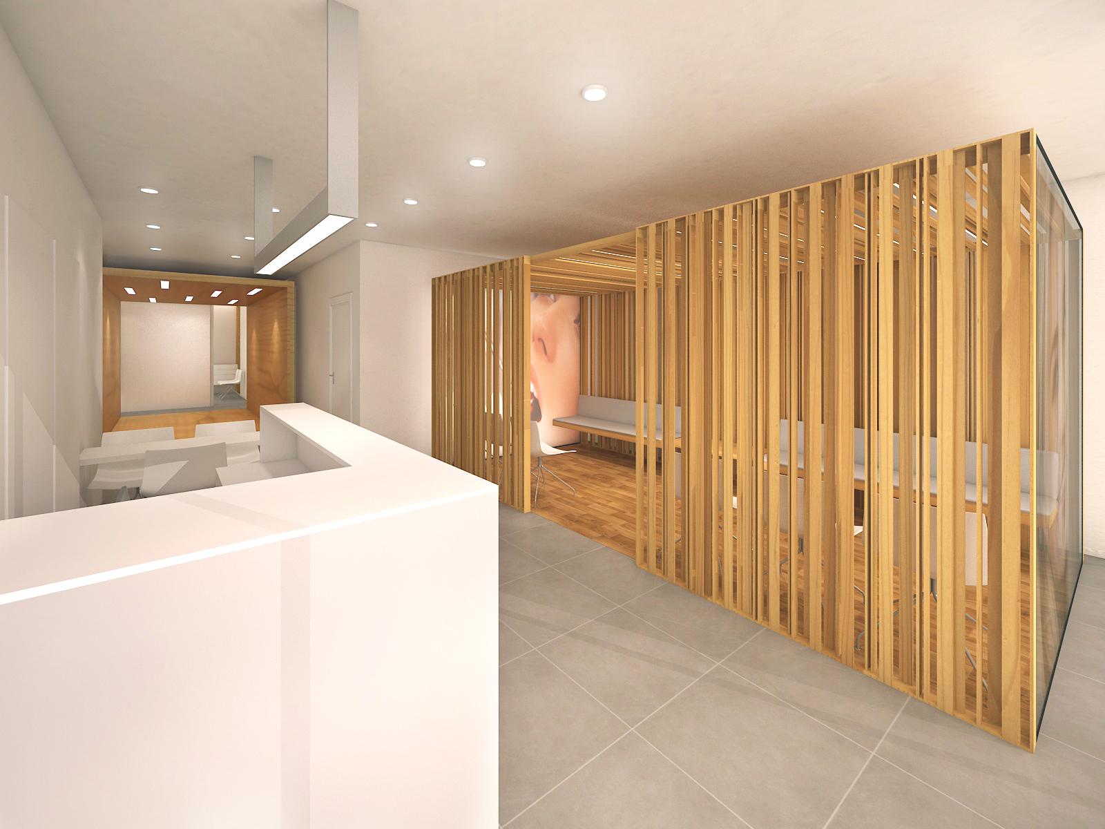 interior design dental clinic br santacreu design