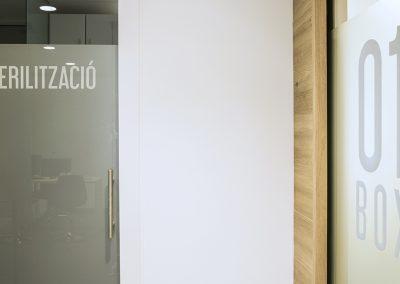Interior Design dental clinic Beatriz Rubio - Detail
