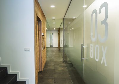Interior Design dental clinic Beatriz Rubio - Hall
