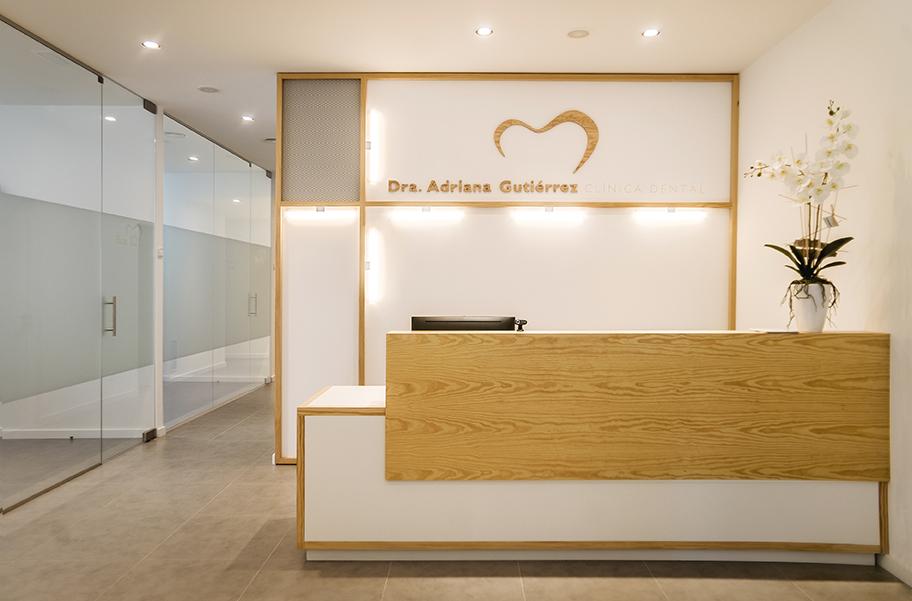 Interiorismo Clínica dental Dra. Adriana Gutiérrez