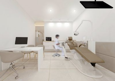 Diseño de Interiores Clínica Dental Llaberia - Box 01