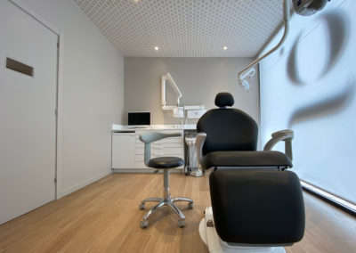 Interiorisme Clínica Dental Gemma Casasayas box gemma